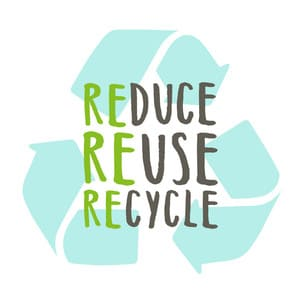 Reduce, Reuse, Recycle - Green living tips uk