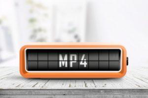 MP4 file conversion