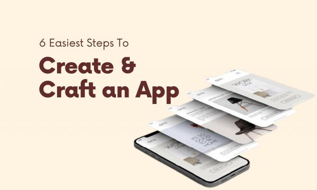Create & Craft an App
