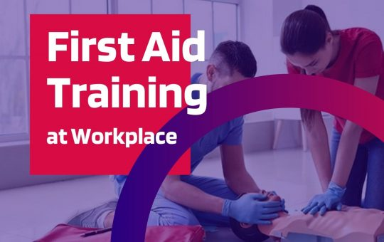 First Aid Training Levels at Workplace