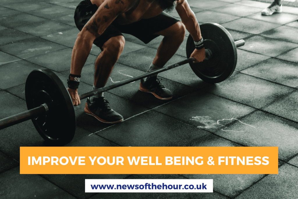 3 BEST WAYS TO IMPROVE YOUR WELL BEING AND FITNESS AT HOME