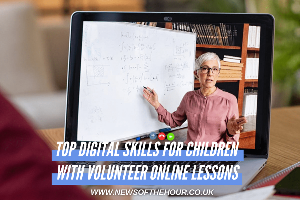 The Top Digital Skills For Children Can Learn With 1HOUR Volunteer Online Lessons