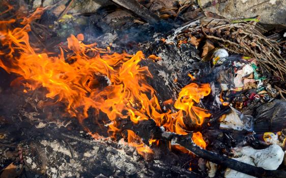 Dont Burn Hazardous Materials